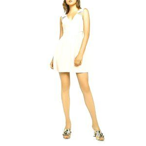 BCBGENERATION Cut Out V Neck Mini Dress